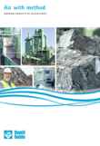 Specialized solutions for the recycling industry