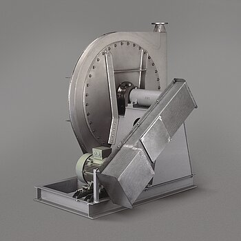 High-pressure fan HV-R with belt drive